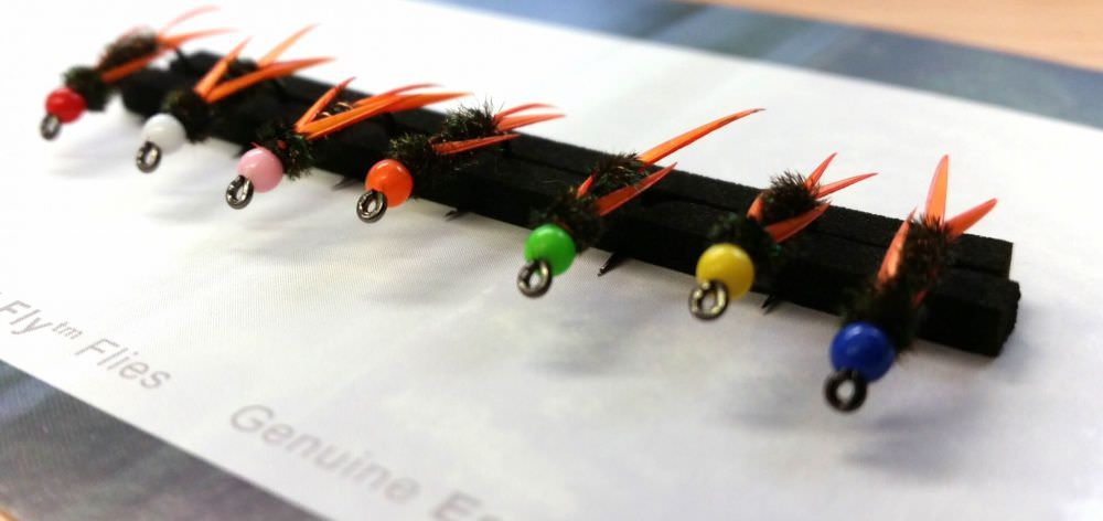 Barbless Inferno Bug Collection - DEADLY Trout FLies