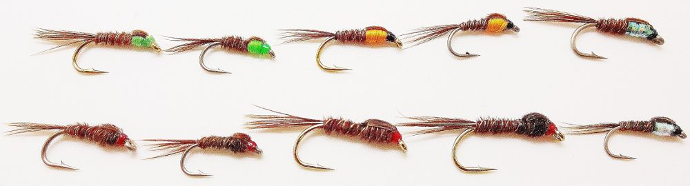 The Essential Sawyer Pheasant Tail Nymph Selection