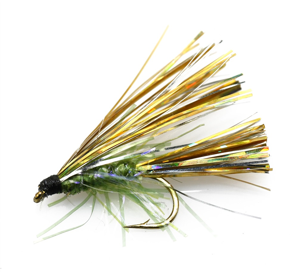Flasha Straggle Olive Mini Lure