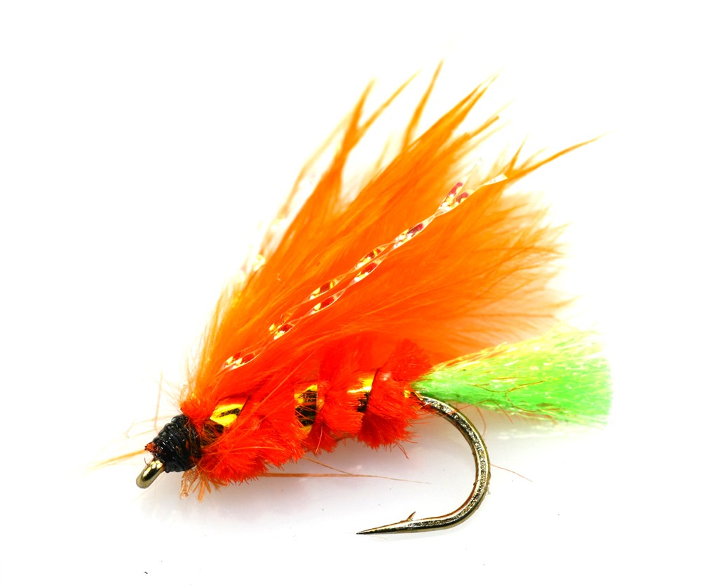 Orange Viva Straggle Mini Lure
