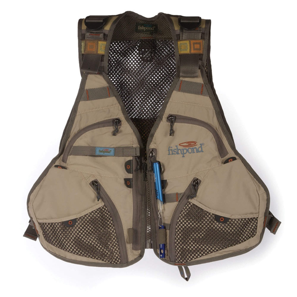Fishpond - Flint Hills Vest - Clay