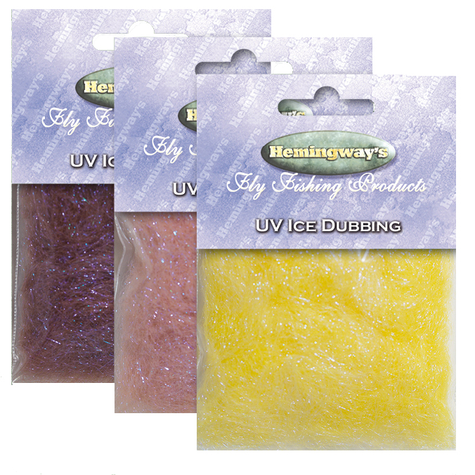 Hemingway's - UV Ice Dubbing - Light Yellow