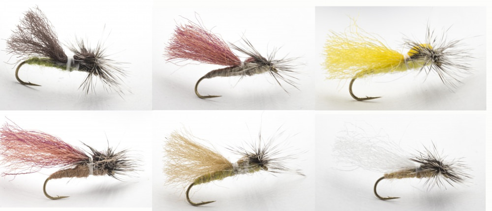 Hans Van Klinken Parapoly Sedge Collection on Daiichi Hooks