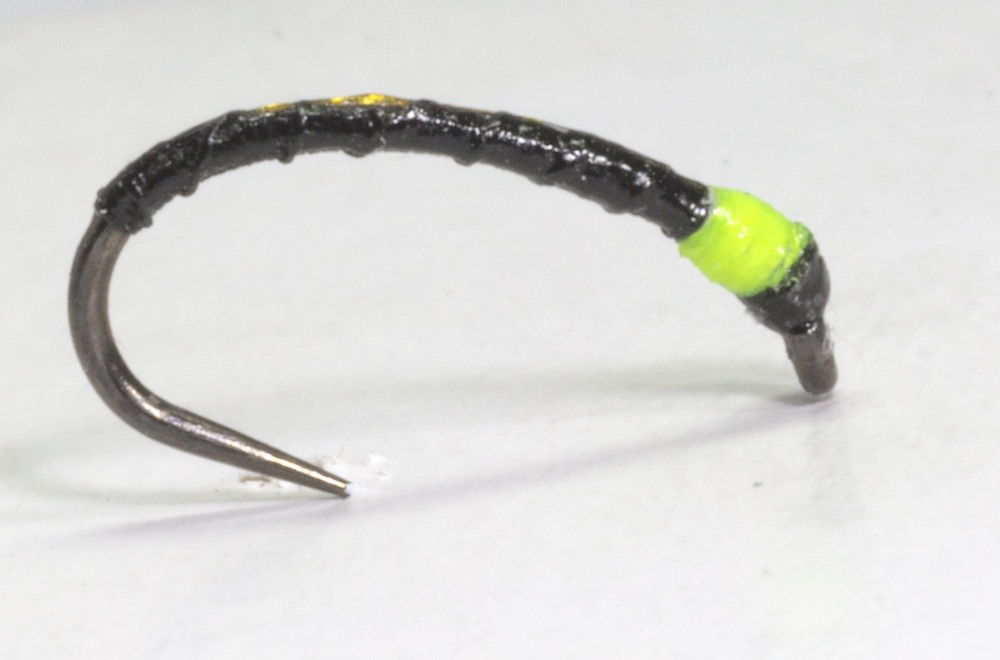 Barbless Sandy's Pulsa Buzzer Yellow