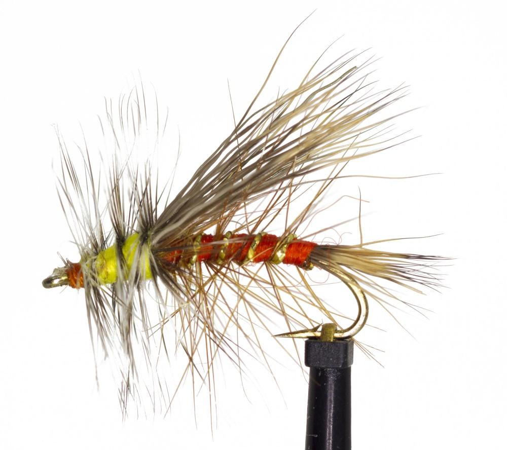 Orange Fly Fishing Fly Stimulator