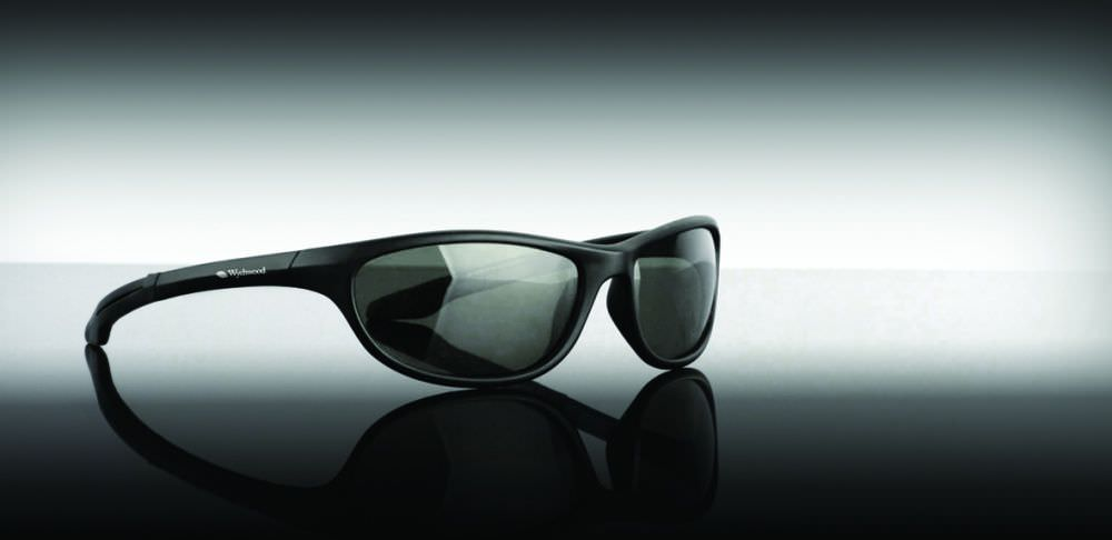 Wychwood - Sunglasses Black Wrap Around - Smoke Lens