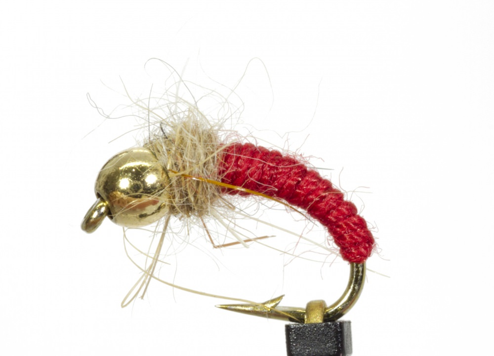 Caddis Cased Red