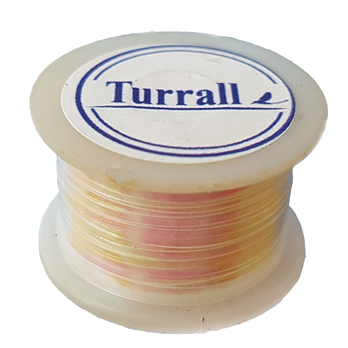 Turrall - Flat Tinsel Wide - Blue