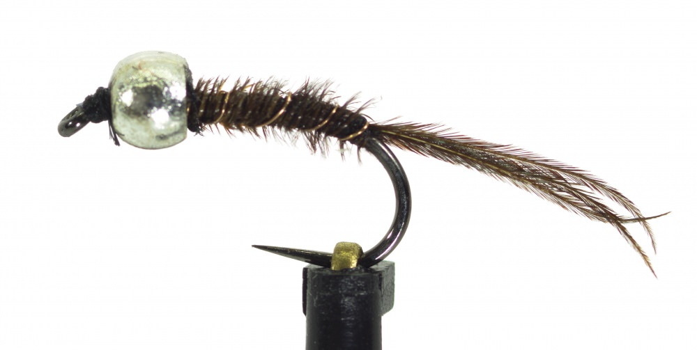 Barbless Micro Camel Nymph