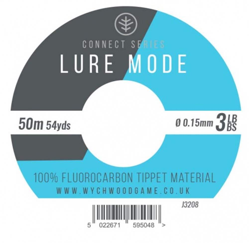 Wychwood Connect Series 3lb Lure Mode Fluorocarbon 0.15mm