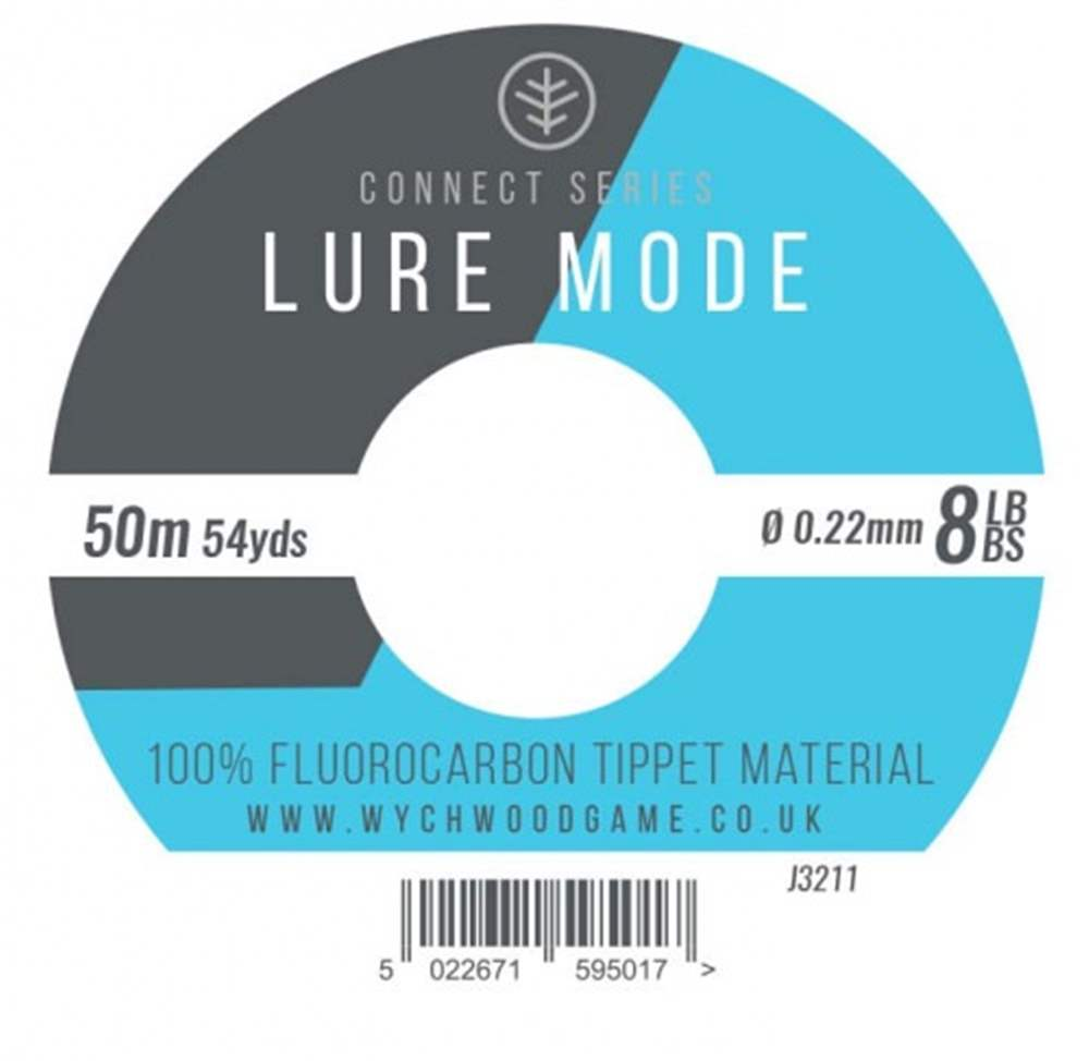 Wychwood Connect Series 8lb Lure Mode Fluorocarbon 0.22mm