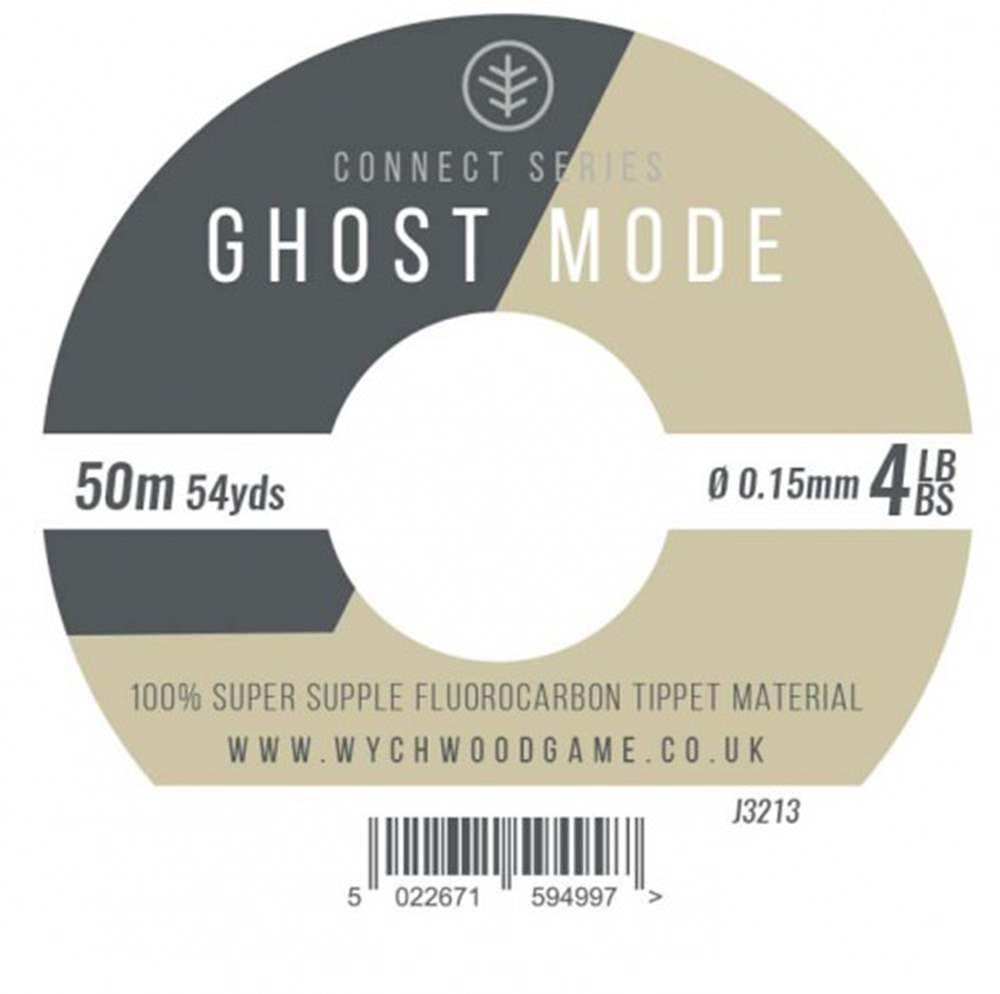 Wychwood Connect Series 4lb Ghost Mode Fluorocarbon 0.15mm