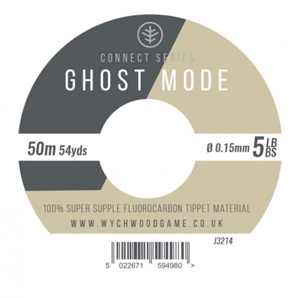 Wychwood Connect Series 5lb Ghost Mode Fluorocarbon 0.15mm