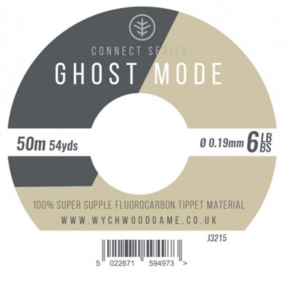 Wychwood Connect Series 6lb Ghost Mode Fluorocarbon 0.19mm