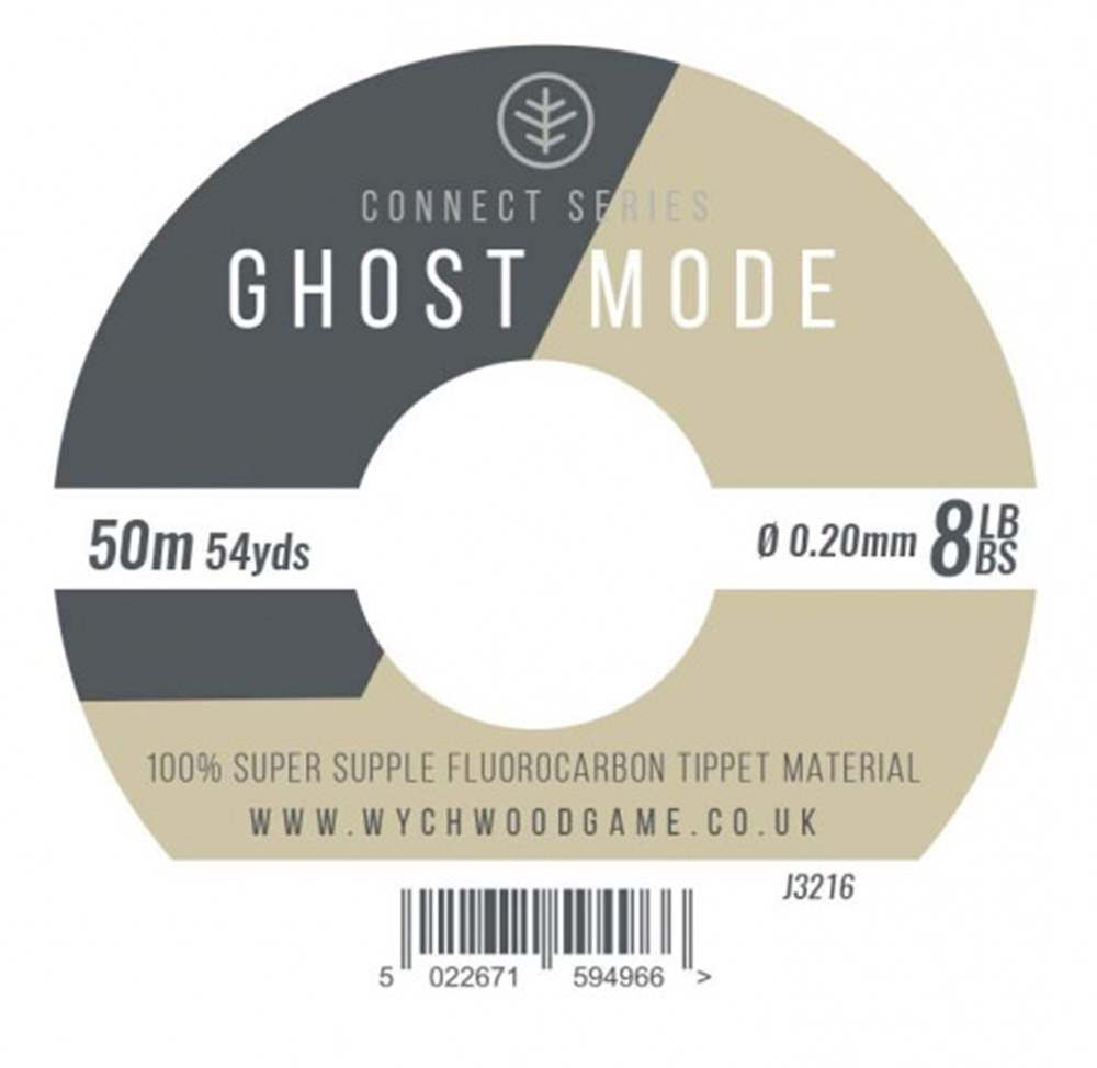 Wychwood Connect Series 8lb Ghost Mode Fluorocarbon 0.20mm