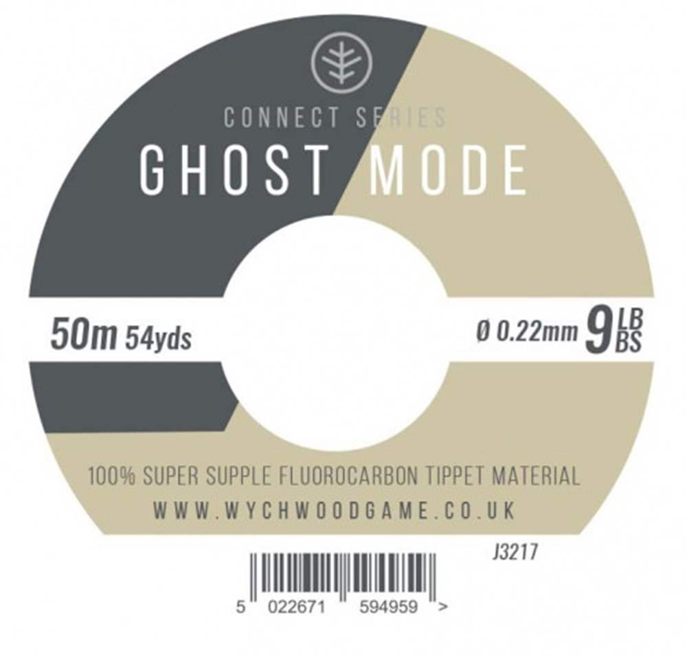 Wychwood Connect Series 9lb Ghost Mode Fluorocarbon 0.25mm