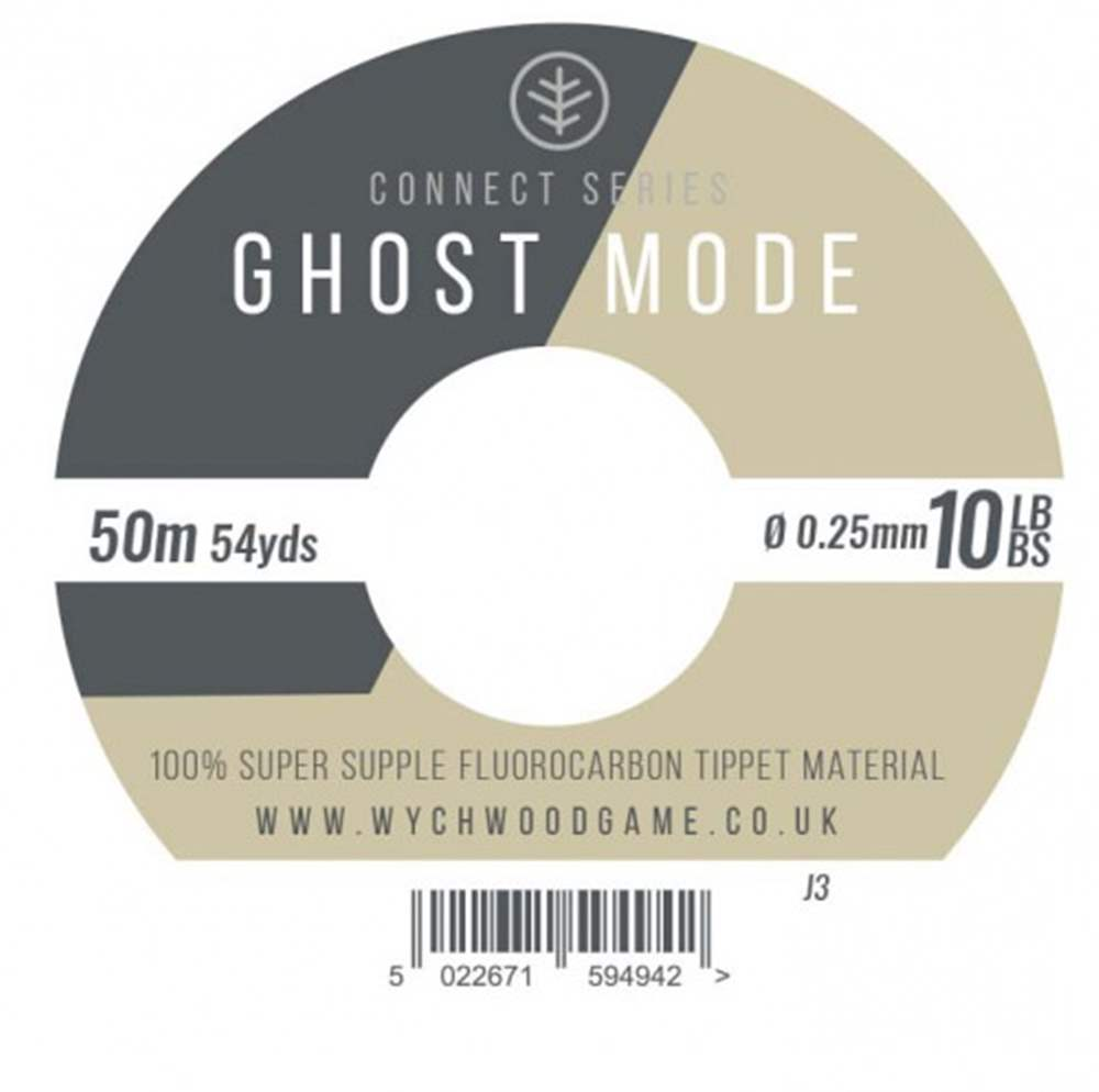 Wychwood Connect Series 10lb Ghost Mode Fluorocarbon 0.25mm