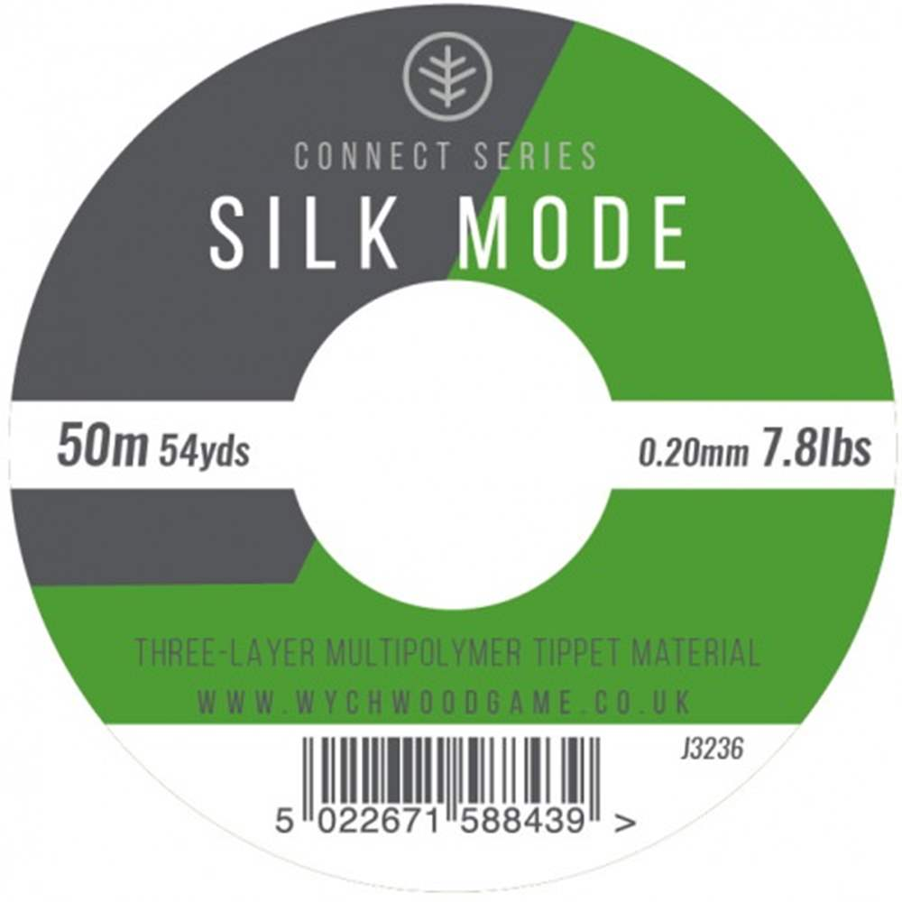 Wychwood Connect Series 7.8b Silk Mode 3 Layer Multipolymer 0.20mm