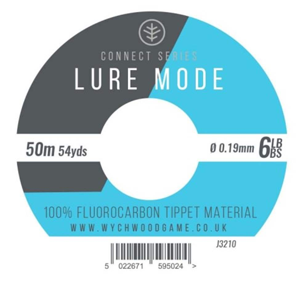 Wychwood Connect Series 6lb Lure Mode Fluorocarbon 0.22mm