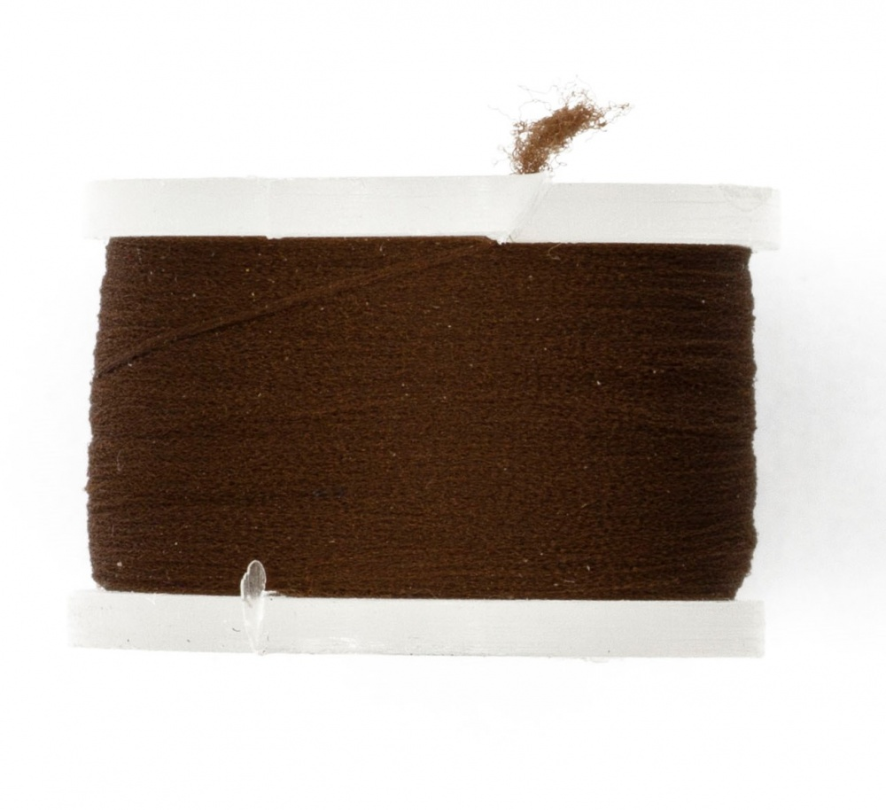 Fly Tying Basic Materials Midge Floss - Dark Brown
