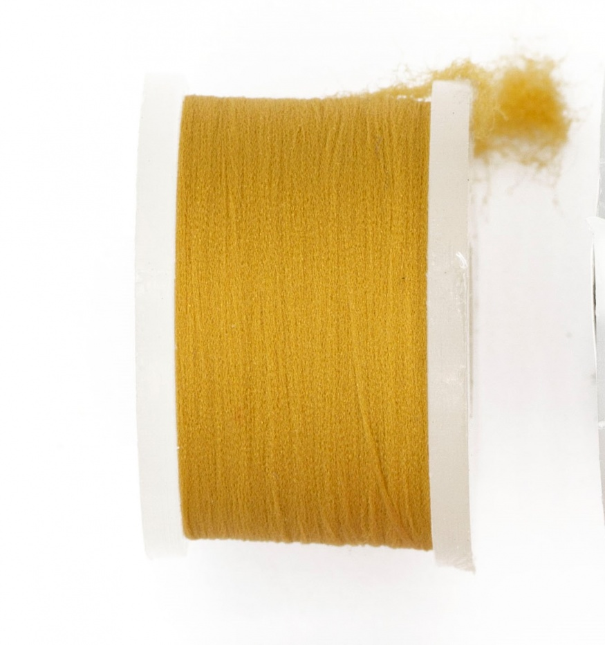 Fly Tying Basic Materials Midge Floss - Tan