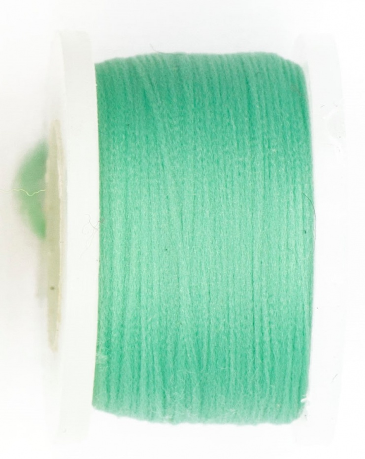 Fly Tying Basic Materials Midge Floss - Pale Green