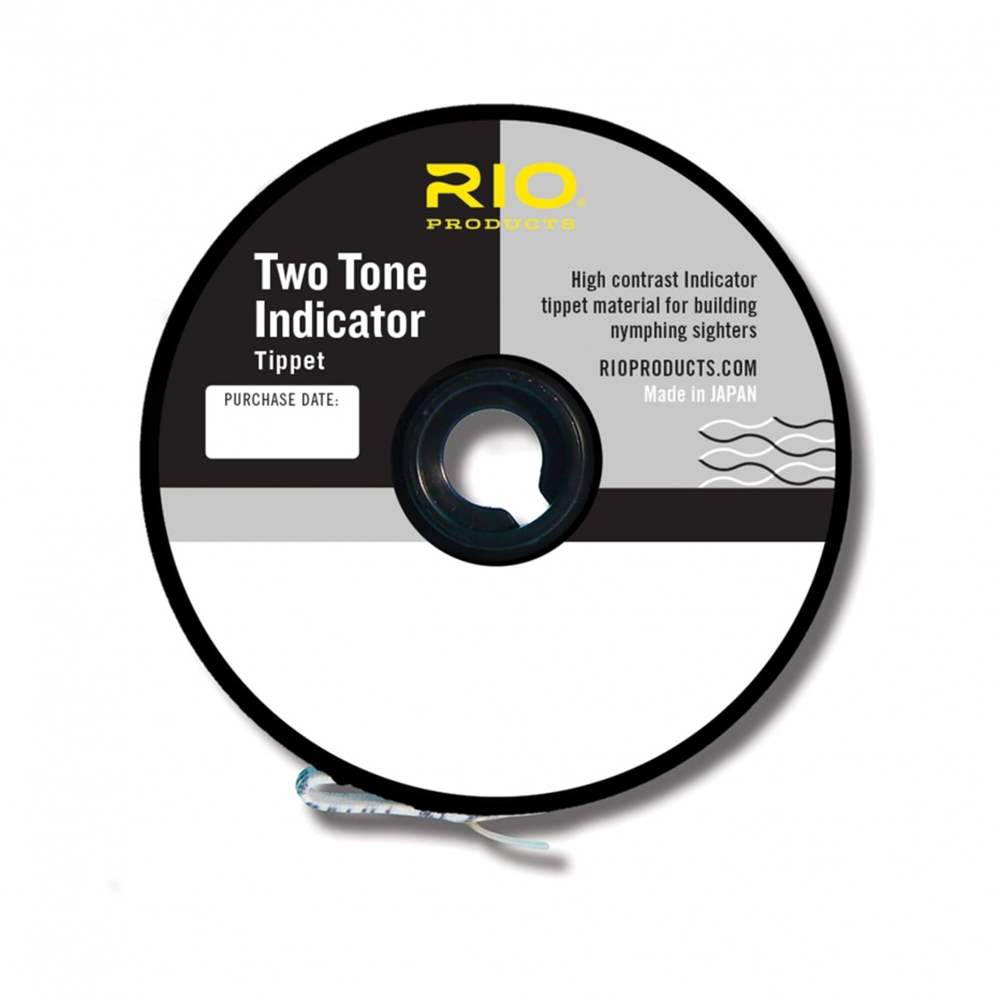 Rio Products - 2-Tone Indicator Tippet - 11lb - 1X
