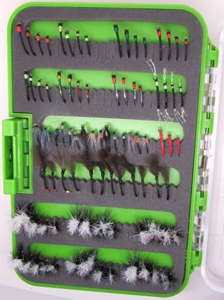 Blank Buster 92 Fly Collection In A Clearview Box