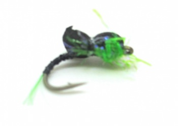 Sandys Blank Buster Assassin Black Back / Green