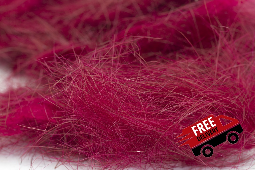 Claret 10gm Seal Fur Dubbing Bulk Trade Pack