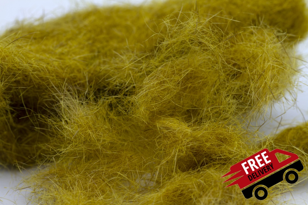 Golden Olive 50gm Seal Fur Dubbing Bulk Trade Pack