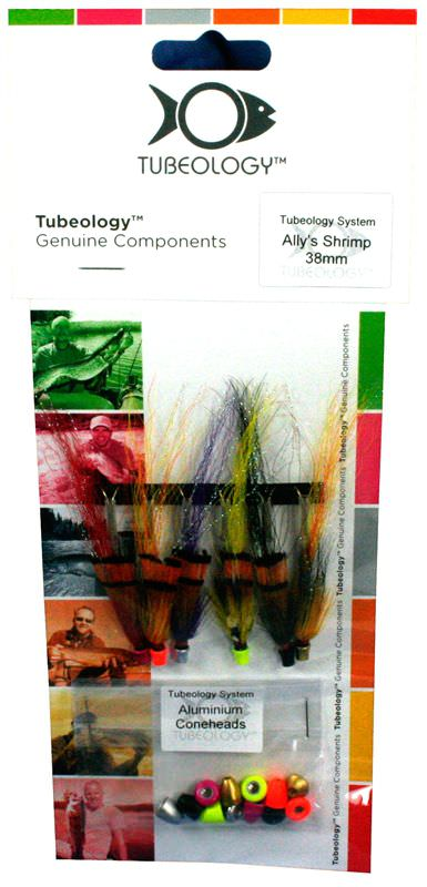 Allys Shrimp Tube Fly Pack 1 - 31mm