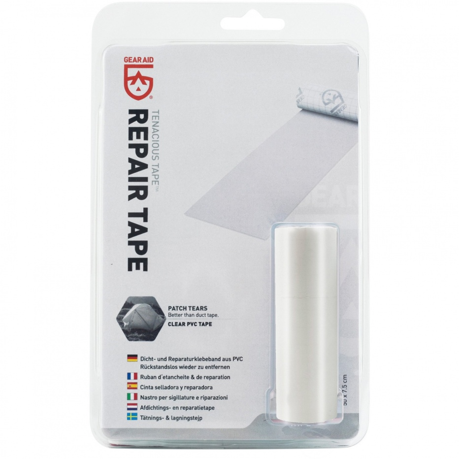 Gear Aid TENACIOUS Repair Tape Clear PVC