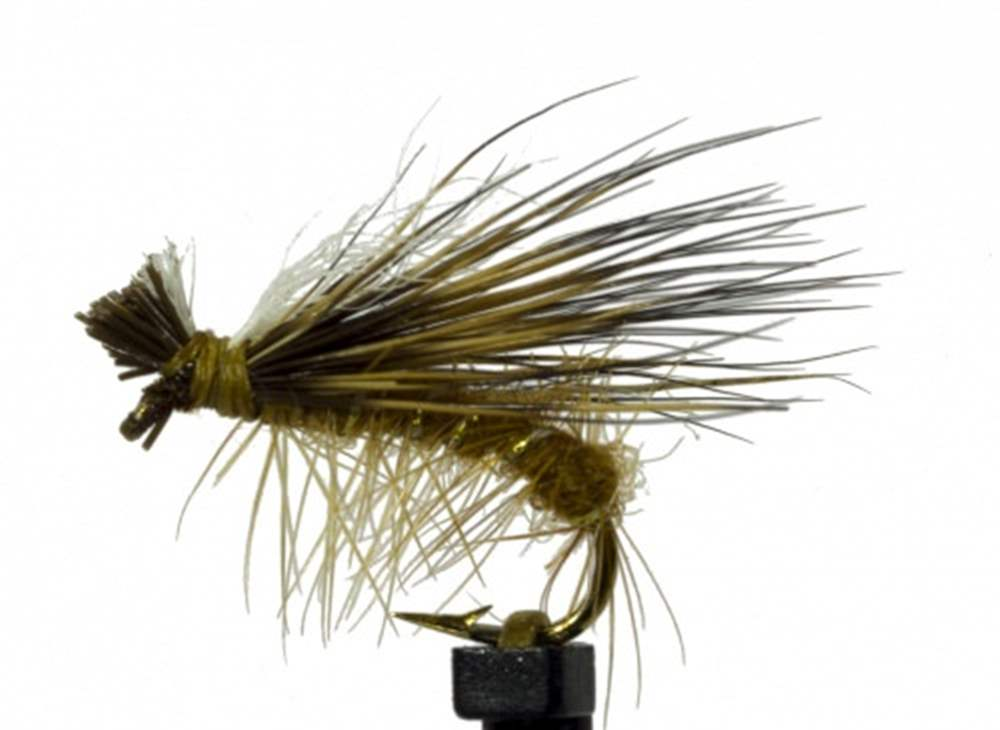 Elk Hair Hi Vis Tan Caddis