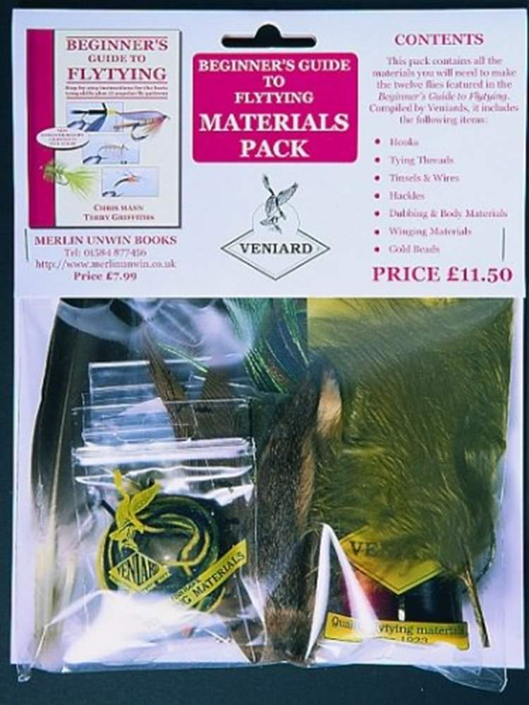 Beginners Fly Tying Materials Set