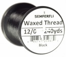 Classic Waxed Thread 12/0 240 Yards - Black