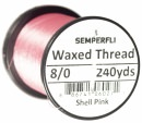 Classic Waxed Thread 8/0 240 Yards - Shell Pink