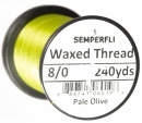 Classic Waxed Thread 8/0 240 Yards - Pale Olive