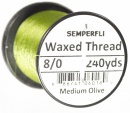 Classic Waxed Thread 8/0 240 Yards - Medium Olive