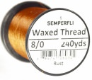 Classic Waxed Thread 8/0 240 Yards - Rust