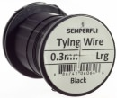 Semperfli - Wire - 0.3mm - Black