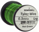 Semperfli - Wire - 0.3mm - Hot Green