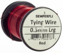 Semperfli - Wire - 0.3mm - Red