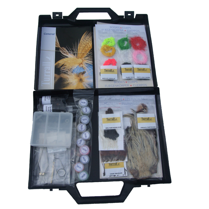 Turrall - Fly Tying Kit - Premium Fresh Water Kit