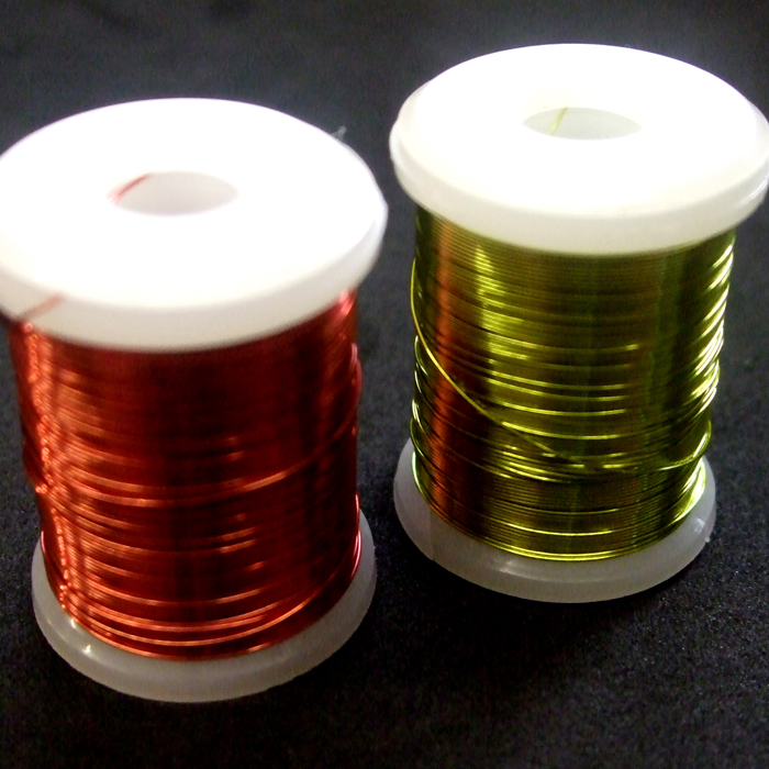 Turrall - 0.2mm Medium Copper Wire - Red