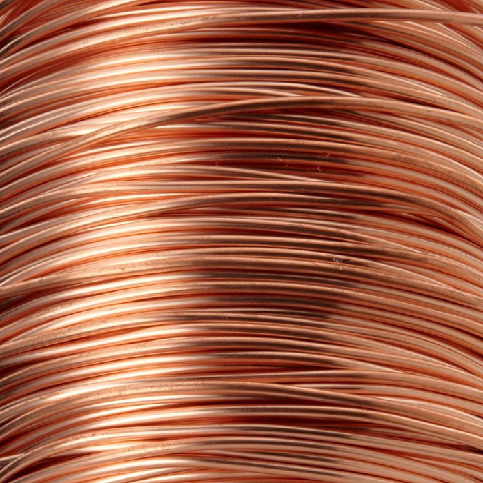 Turrall - 0.1mm Extra Fine Wire - Natural Copper