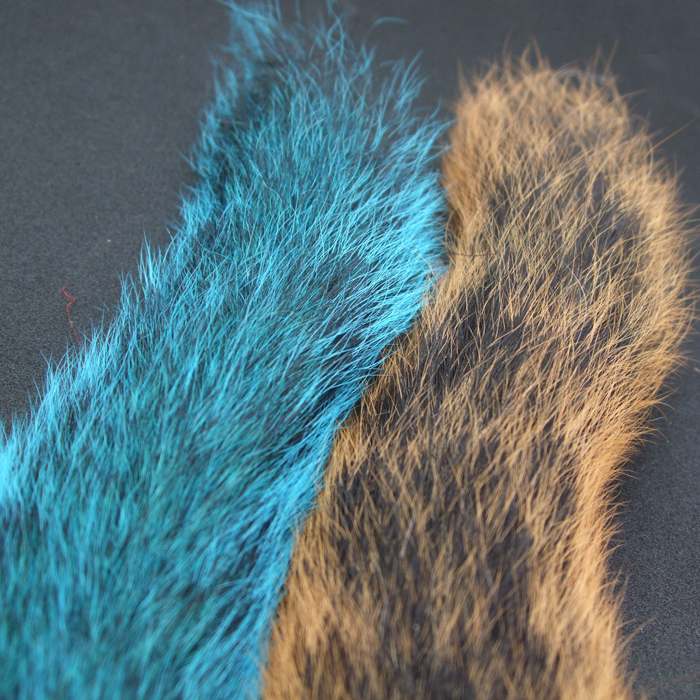 Turrall - Grey Squirrel Tail - Red