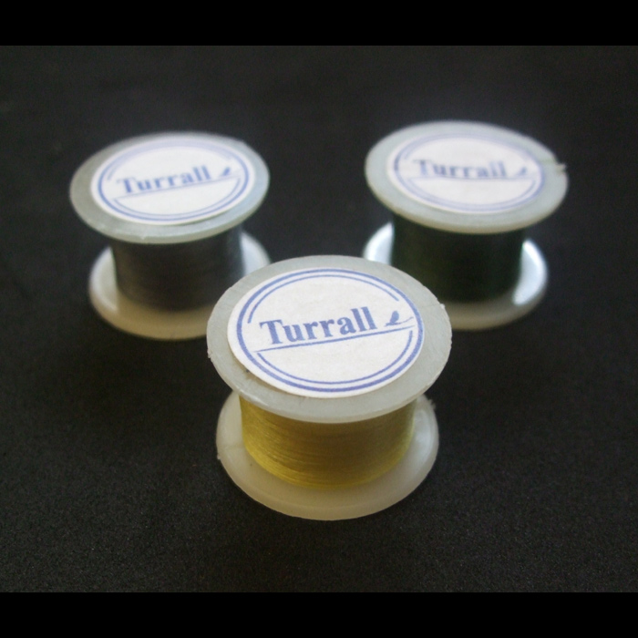 Turrall - Extra Fine Thread - Pre-Waxed - Yellow
