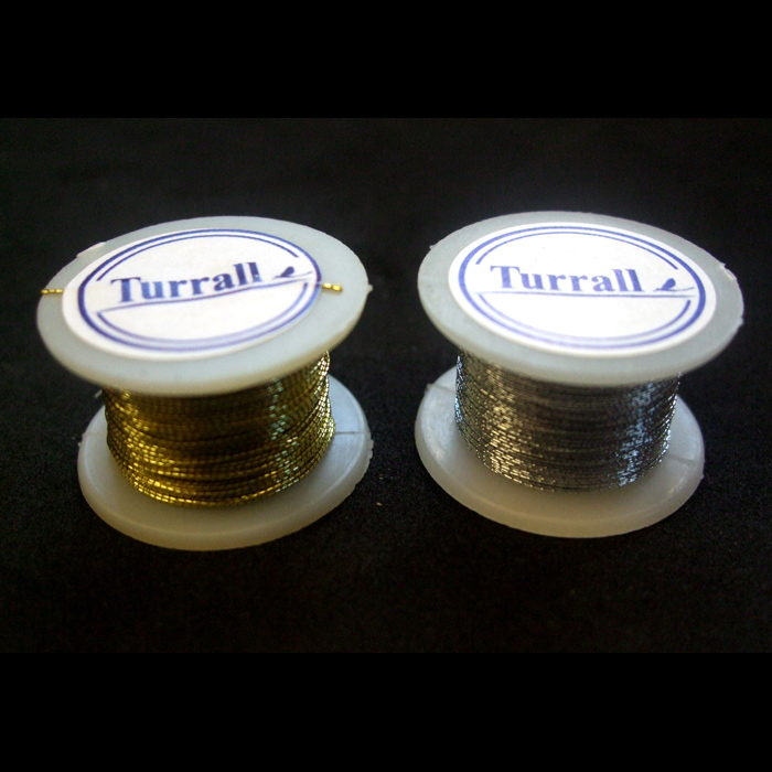 Turrall - Tinsel Round Extra Fine - Gold