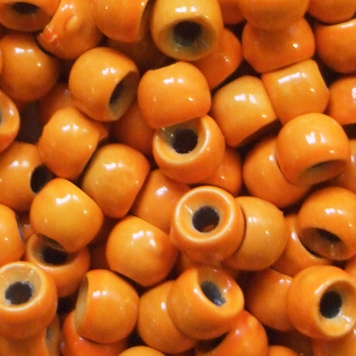 Turrall - Tungsten Bead - Micro - 1.5mm - Fl. Orange